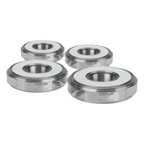 Dynamometer Kit: Set of 4 Triaxial Ring Force Transducers, Fx, Fy, Fz (Fz up to ±150 kN / ±33.7 klbf) 9076C4