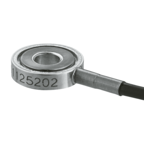 Piezoelectric Shear Force Sensor SlimLine, Ring Force Transducer with Fy up to ±0.9 kN / ±202 lbf 9143B