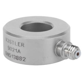 Piezoelectric Force Sensor, Ring Force Transducer with Fz up to 35 kN / 7.86 klbf 9021A