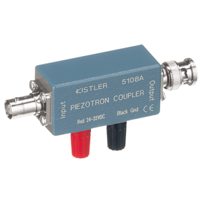 1-Channel Piezotron (IEPE) Coupler with external supply 5108A