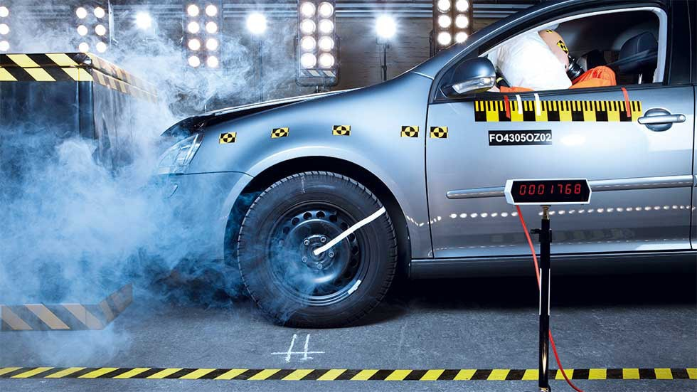 Vehicle crash testing and instrumentation