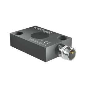 Inductive distance sensor, output signal 0 ... 10 VDC, 3-pin M8 connector ISS-A Serie