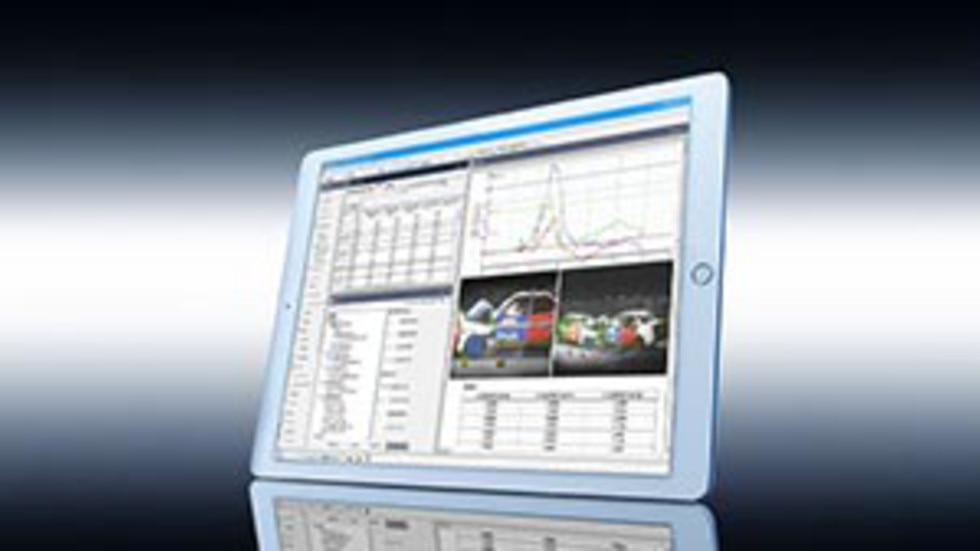 Kistler offers complete software solutions for post-processing of measurement data.