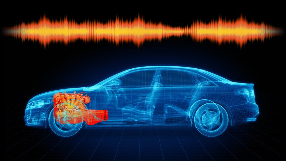 Powertrain noise, vibration and harshness (NVH) testing
