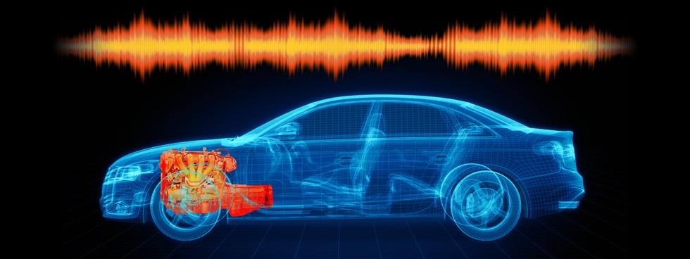 NVH (Powertrain noise, vibration and harshness) testing