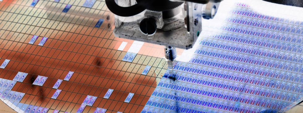 Industrial solutions to monitor production quality within semiconductor manufacturing processes.
