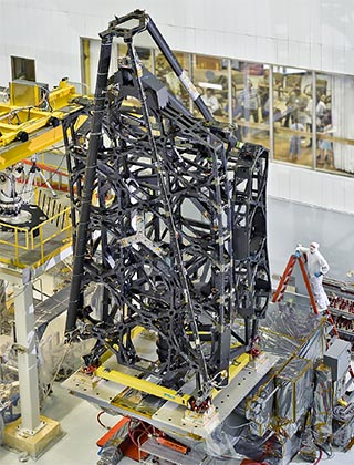 NASA's James Webb Space Telescope Structure