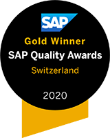 "Gold award in the category ""Cloud Transformation"""
