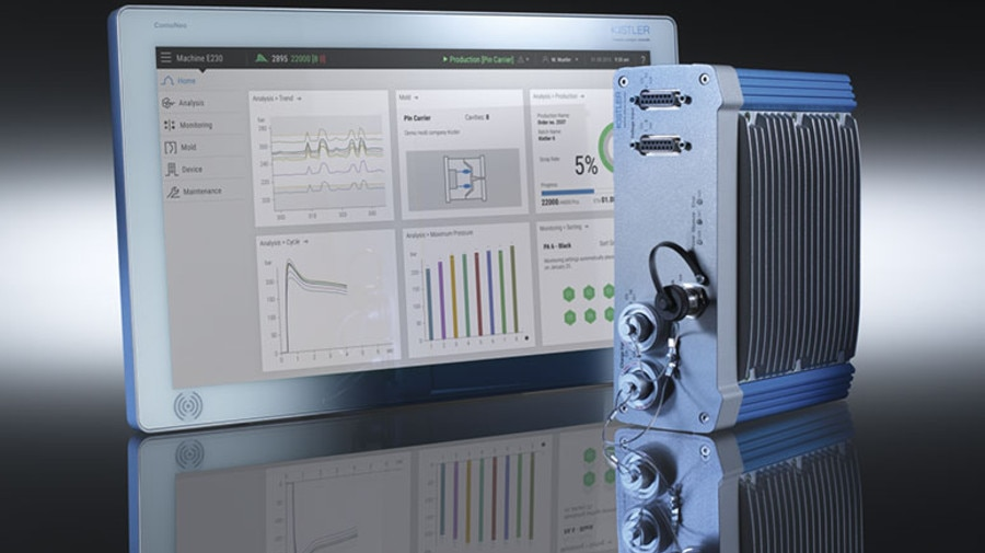 ComoNeo from Kistler is the leading process monitoring system intelligent plastic processing