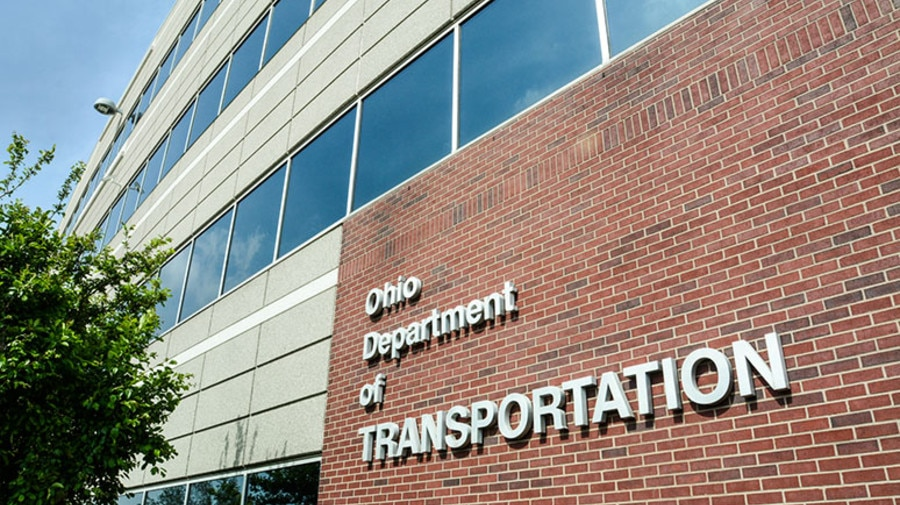 Headquarters of Ohio Department of Transportation (ODOT) in Columbus