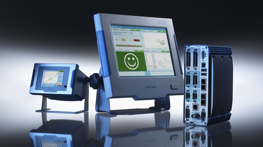 maXYmos XY monitors can track and evaluate the quality of a product