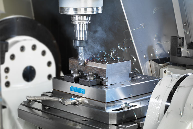 Measurement of cutting forces during a milling process
